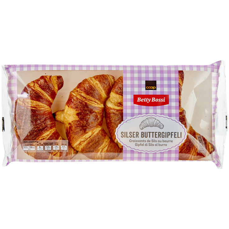 Ready-to-Bake Breads - Betty Bossi Freshly Baked Rustic Butter Croissants
