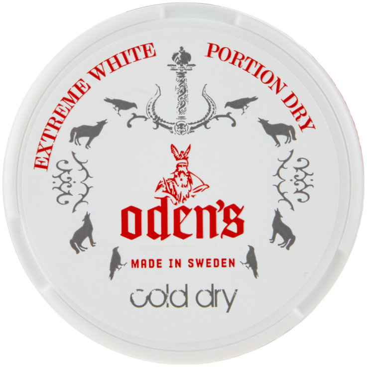 Smokeless & Chewing tobacco - Odens Cold Extreme White Dry