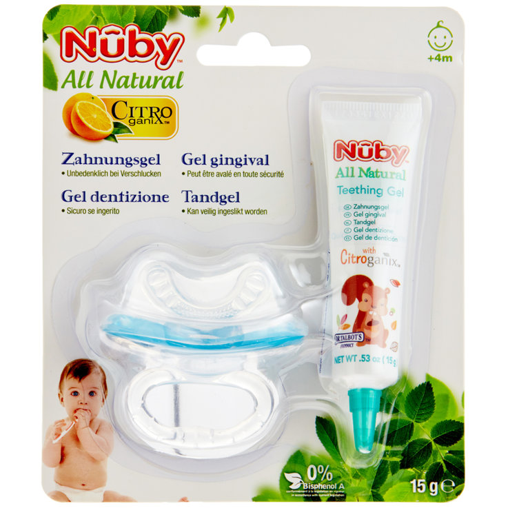 Care Accessories - Nûby Gum-eez Teething Gel 4 Months+