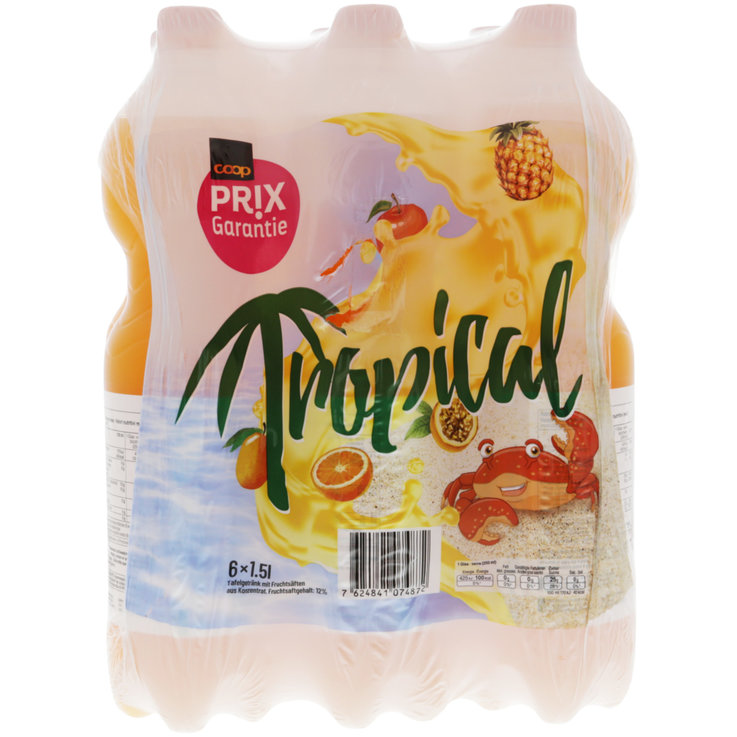 Multipacks ab 1 Liter - Prix Garantie Tropical 6x1,5l