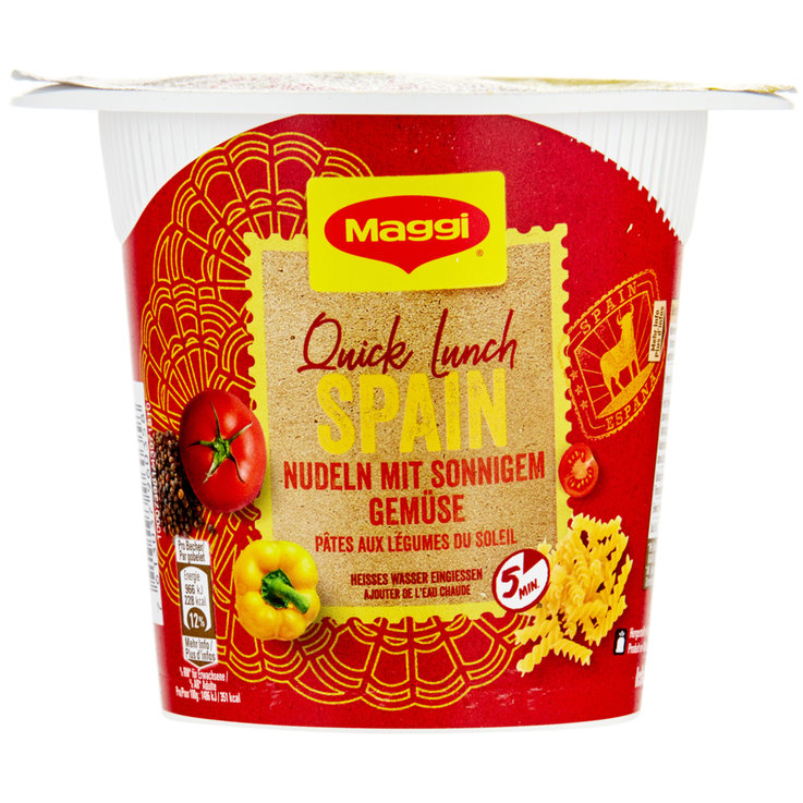 Noodles etc. - Maggi Quick Lunch Spain