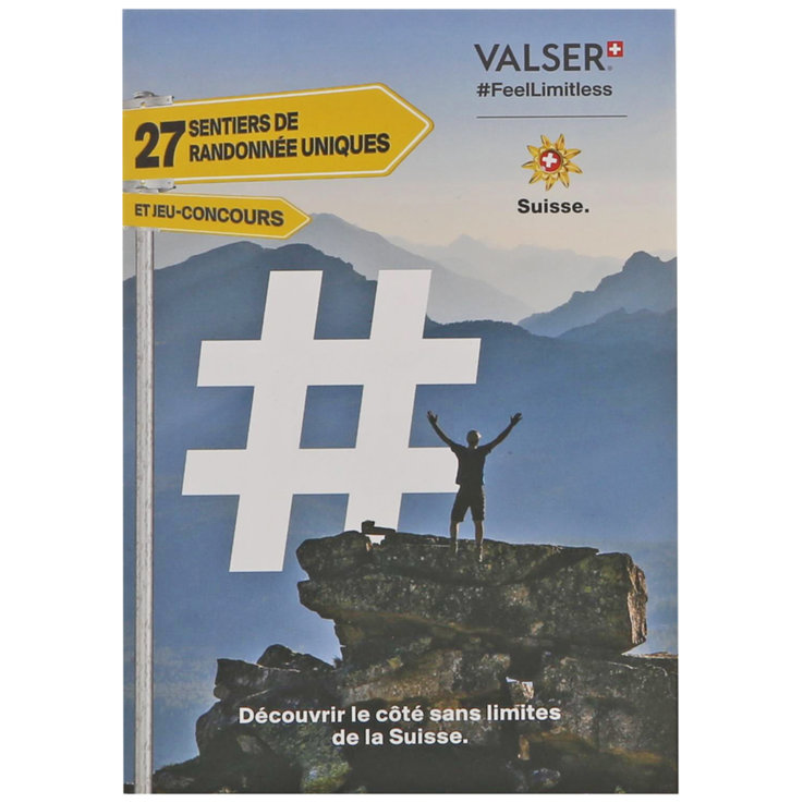 Online free products - Valser Hiking Map (french)