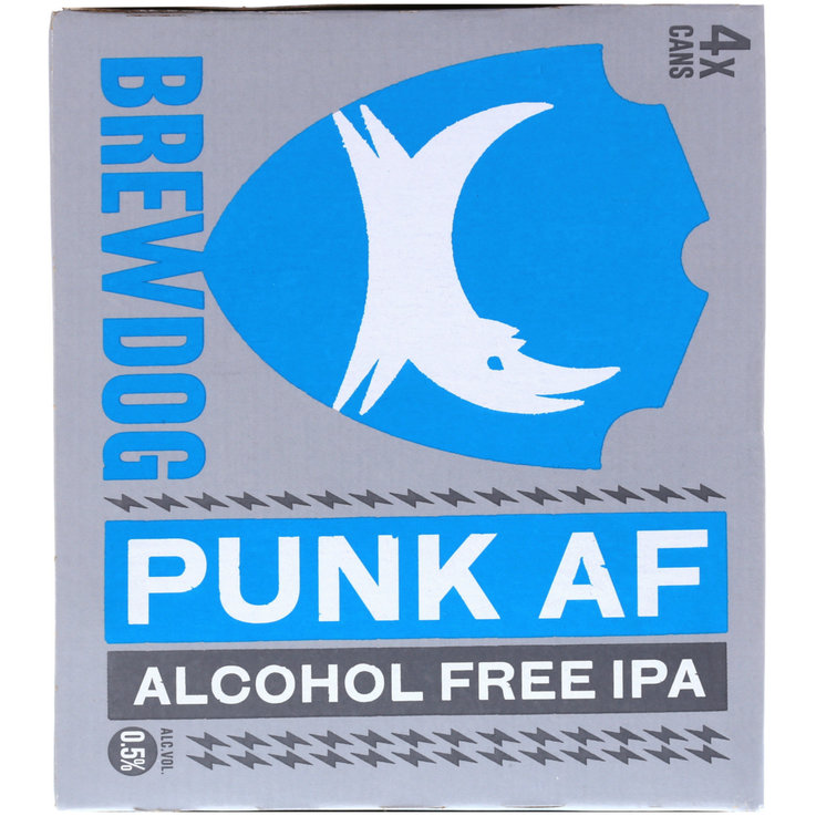 Alcohol-Free Beer - Brewdog Beer Punk alcohol free 4x33cl
