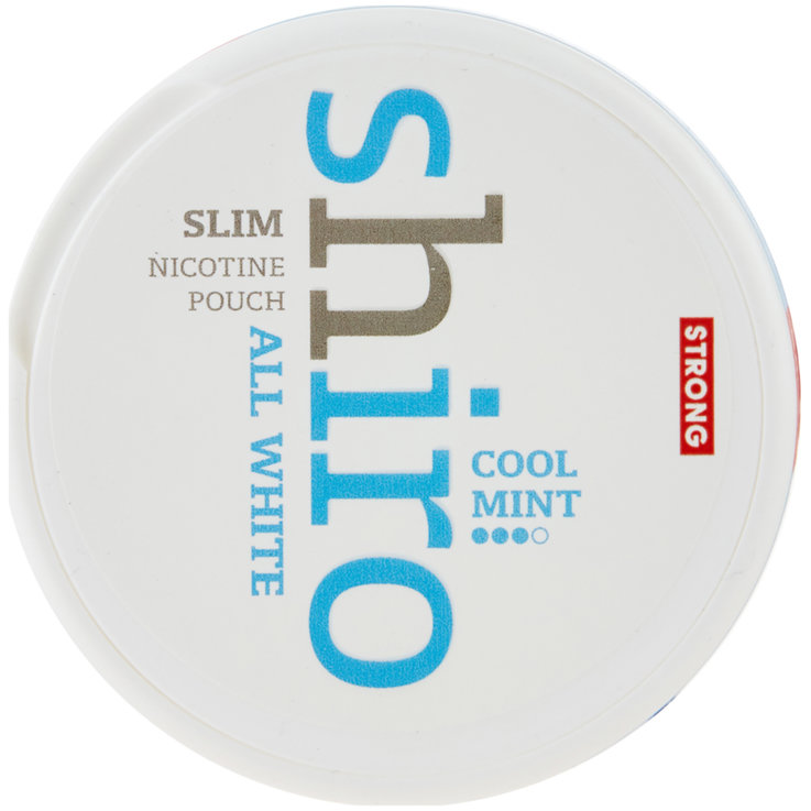 Smokeless & Chewing tobacco - Shiro Cool Mint Strong Slim