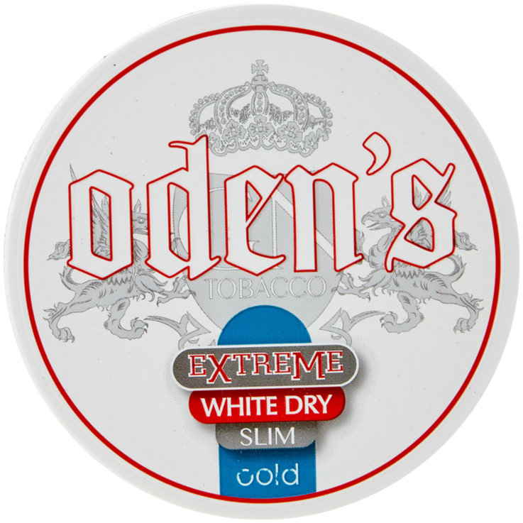 Smokeless & Chewing tobacco - Odens Cold Extreme White Dry Slim