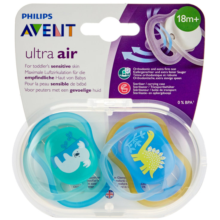 Sucettes - Avent Nuggi ultra air 18+ Monate