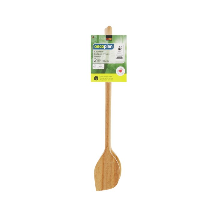 Ladles & Skewers - Oecoplan Ladles without Holes 30cm 2 Pieces