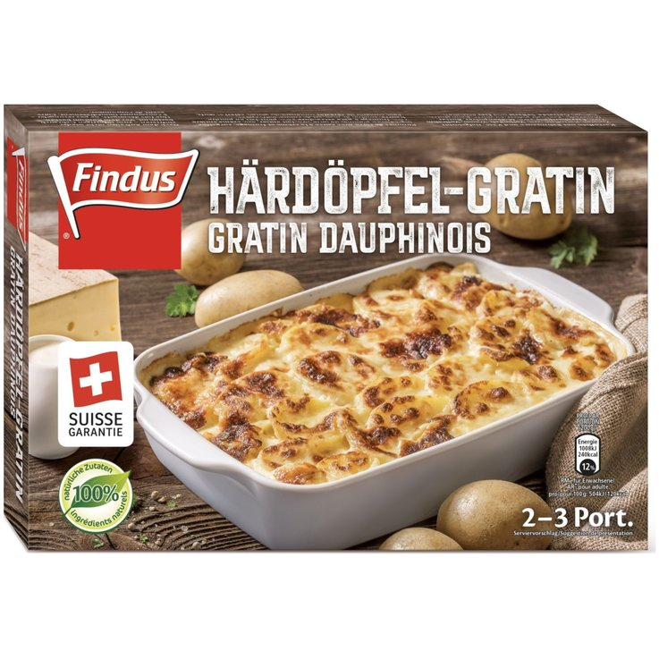 More Frozen Meals - Findus Frozen Potato Gratin