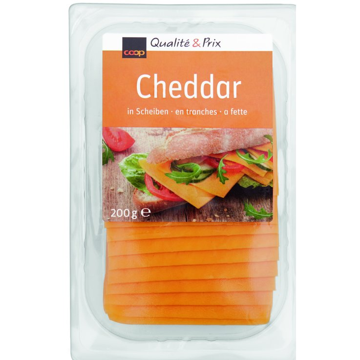 Cheese Slices - Cheddar Slices