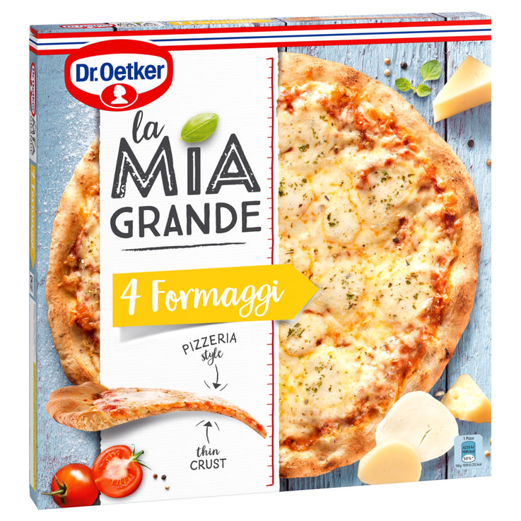Pizza - Dr. Oetker La Mia Grande Frozen 4 Cheese Pizza