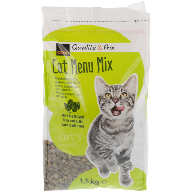 Crocchette - Cat Menu Mix con pollame