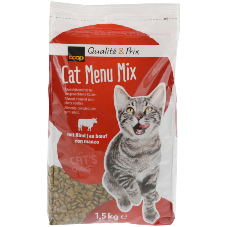 Dry Food - Cat Beef Menu Mix Dry Cat Food