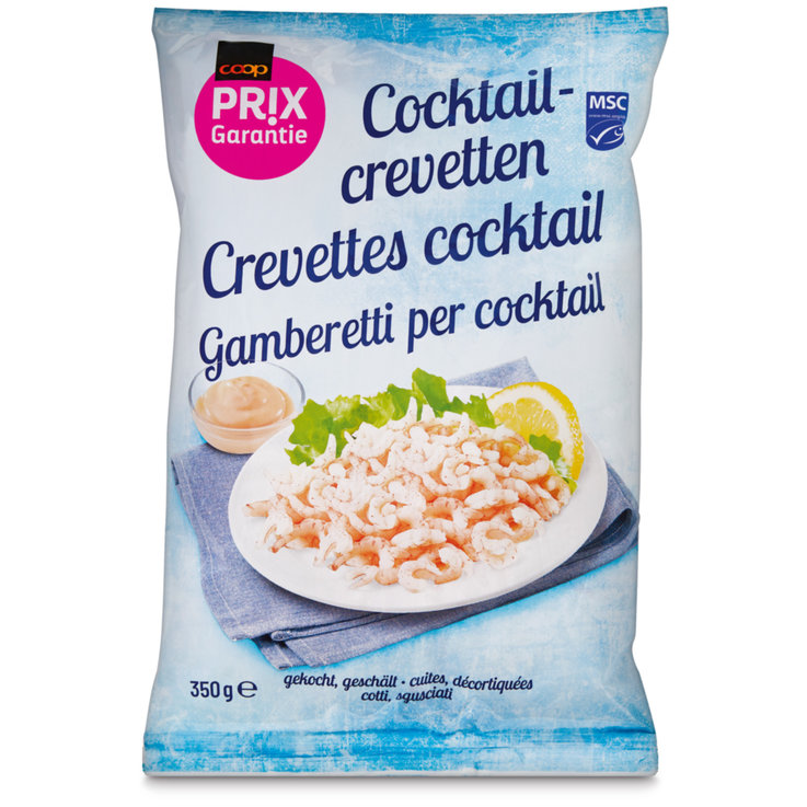 Crustacés & Fruits de mer - Prix Garantie Crevettes cocktail MSC