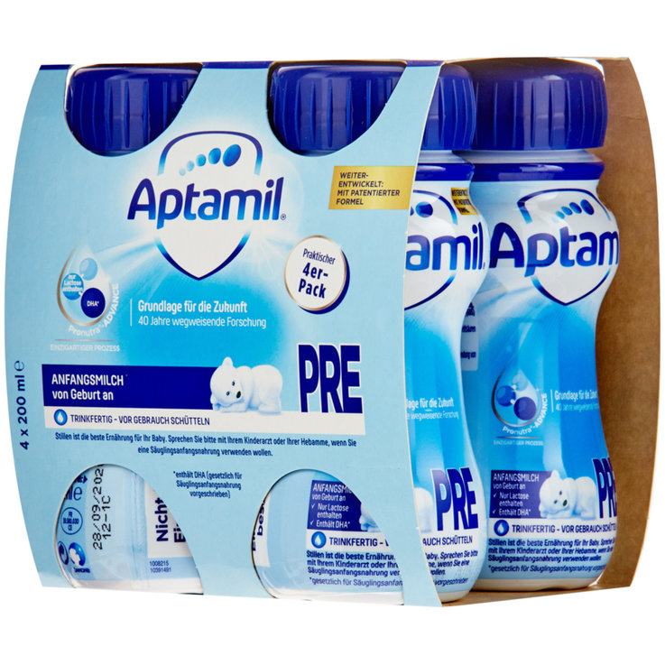 Probiotic Drinks - Aptamil Pre 4x200ml
