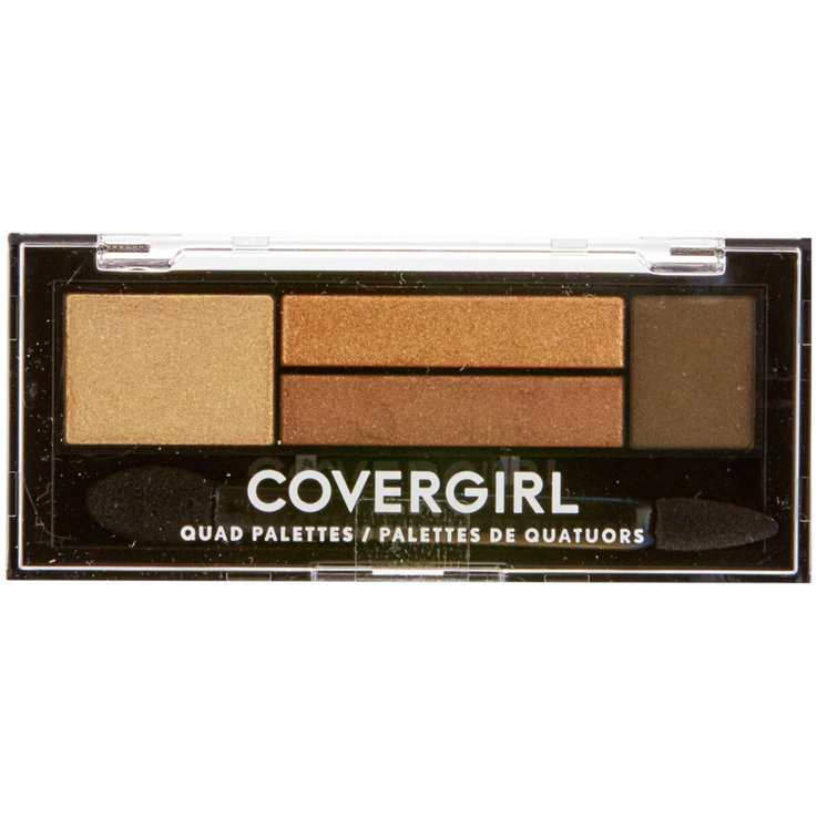 Eyes - CoverGirl Quads 705 Go for the Golds Eye Shadow