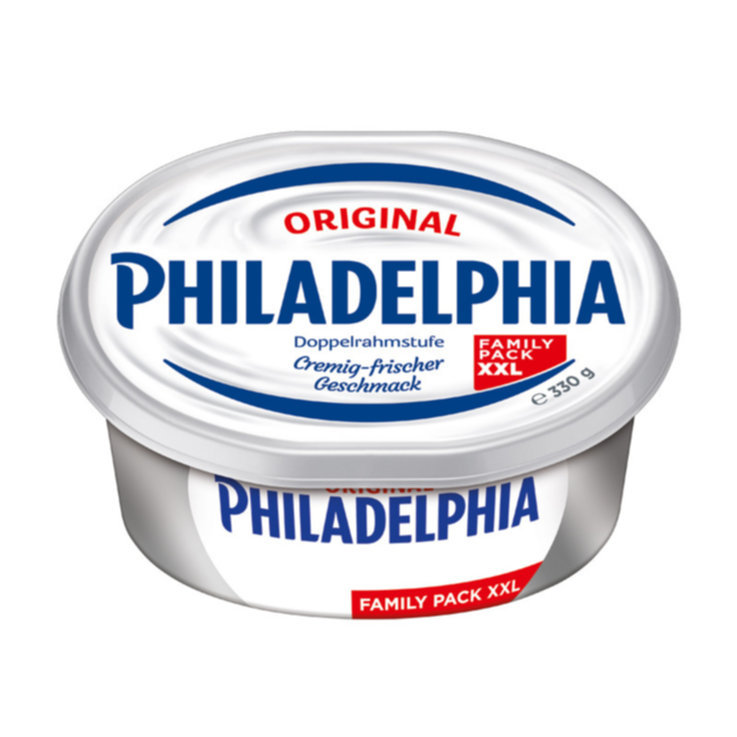 Fresh Cheese & Mozzarella - Philadelphia XL Plain Cream Cheese Spread
