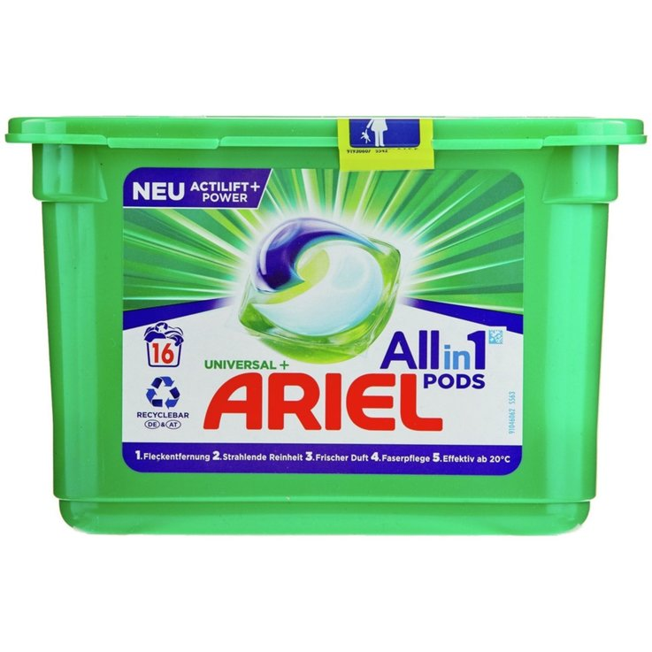 Couleur - Ariel Pastilles de lessive All-in-1 16 lessives