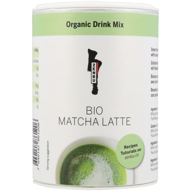 Energy Drinks - Zenbu Organic Matcha Latte Mix