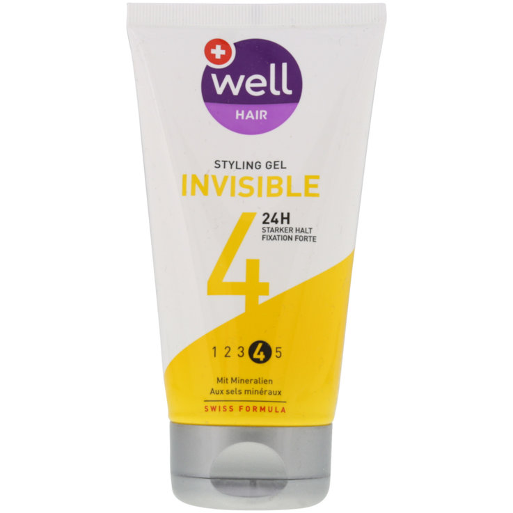 Gel - well Invisible Styling Gel Strong
