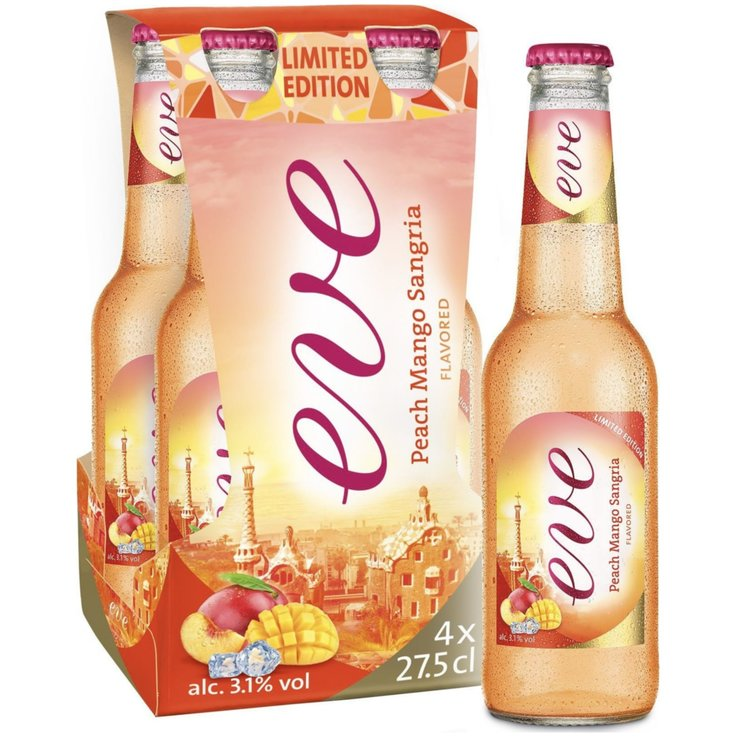 Blended Beer & Cider - Eve Sangria Beer 4x27.5cl