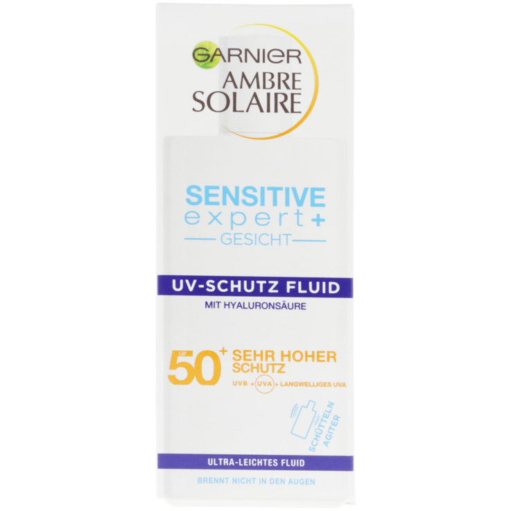Protection Factor 50 - Ambre Solaire Sensitive Facial Sunscreen 50 SPF