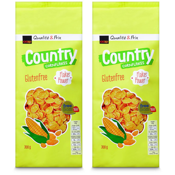 Other Flakes - Country Gluten Free Cornflakes Muesli 2x  300g