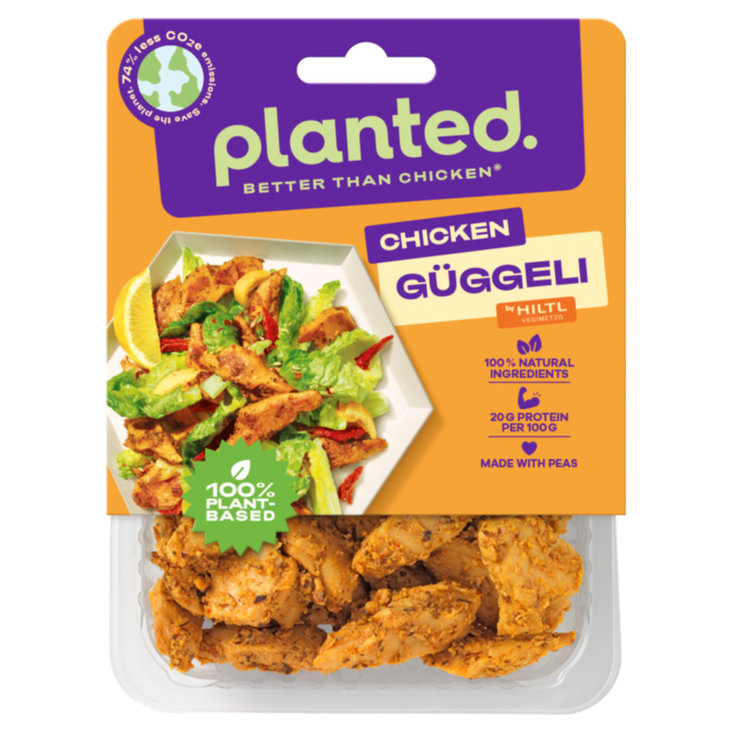 Meat Substitutes - Planted Marinated Chicken