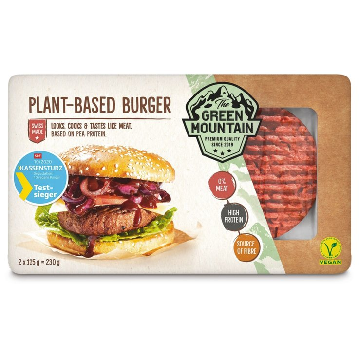 Fleischersatz - The Green Mountain Burger