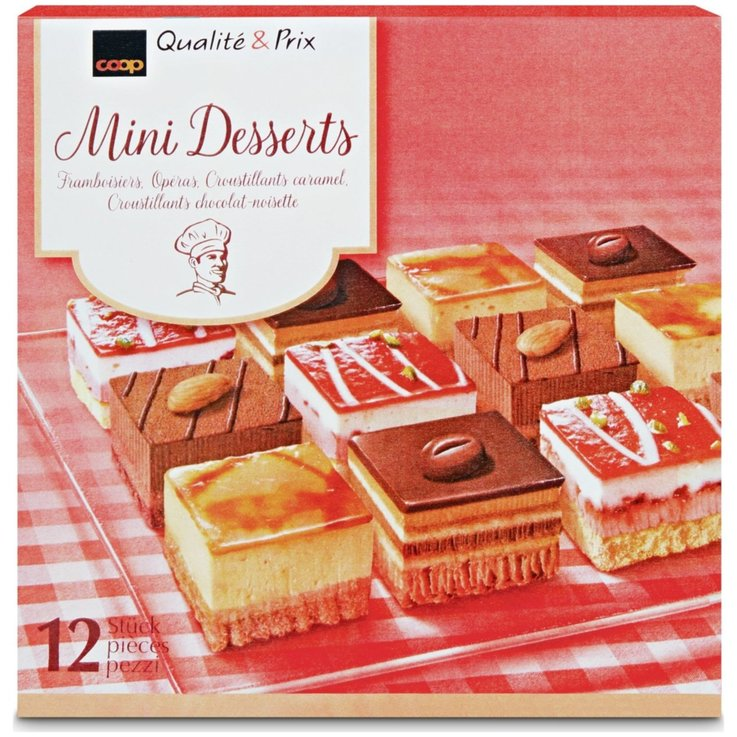 Desserts - Frozen Mini Pastries 12x35g