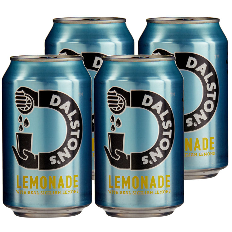 Übrige Limonaden - Dalston's Real Lemonade 4x  33cl