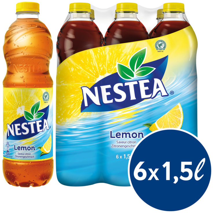 Lemon Ice Tea - Nestea Lemon Black Ice Tea 6x1.5l