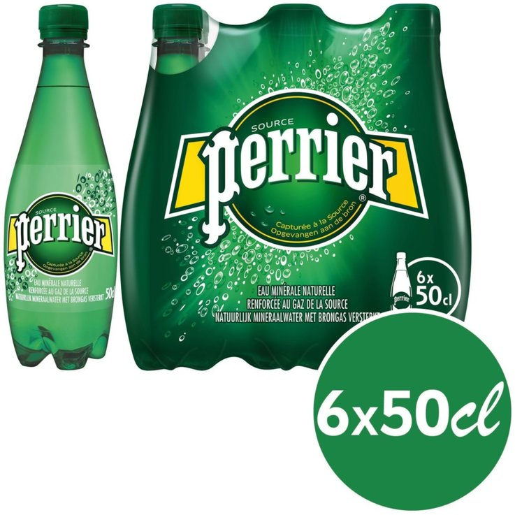 Multipack sotto 1 litro - Perrier 6x50cl