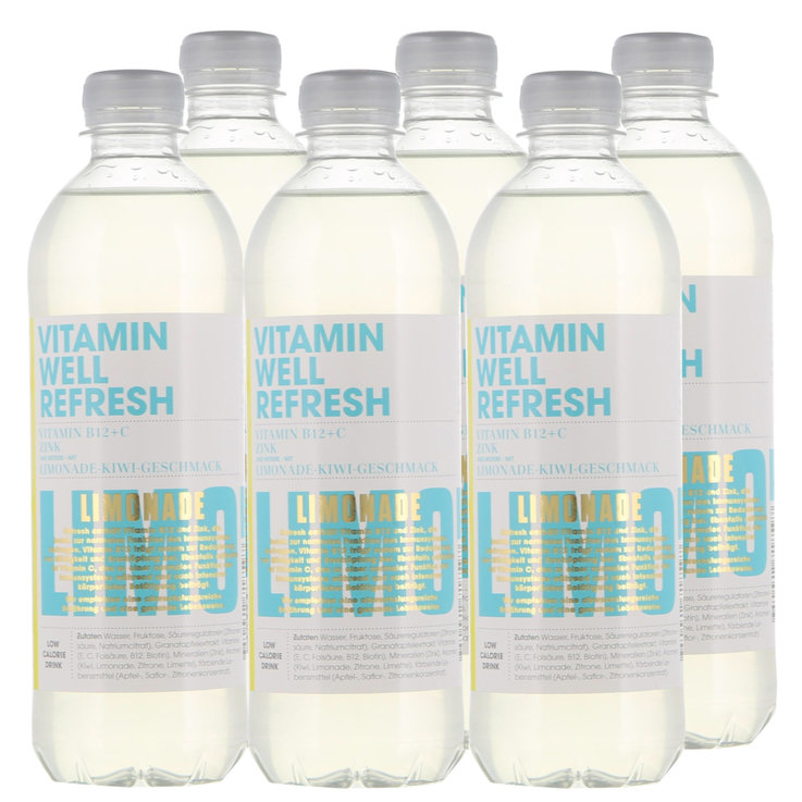 Bevande sportive - Vitamin Well Refresh 6x  50cl
