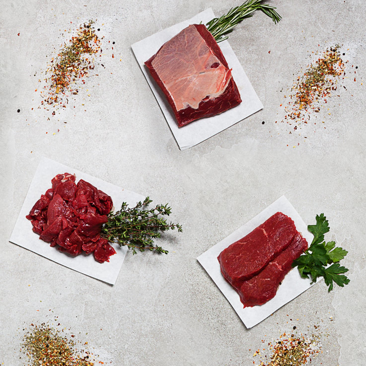 Meat Products - Naturaplan Demeter Organic Premium Beef Tasting Box