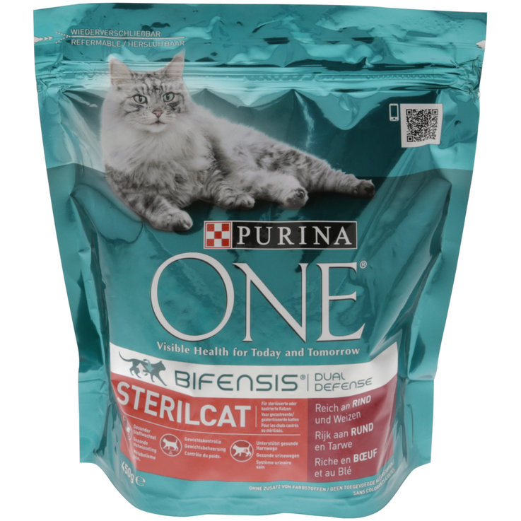 Dry Food - One Sterilcat Beef Flavoured Dry Cat Food