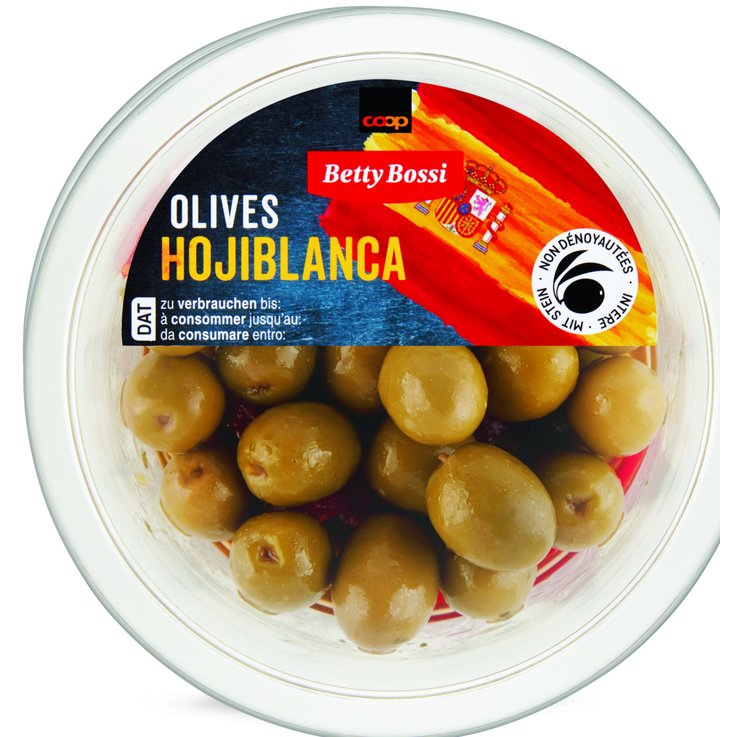 Olives - Betty Bossi Hojiblanca Spanish Green Olives