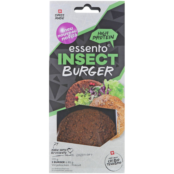 Insectes - Essento Insect Burger 2x85g