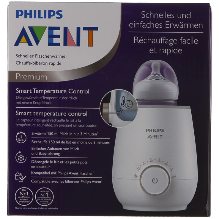Baby Bottles & Accessories - Avent Fast Bottle Warmer