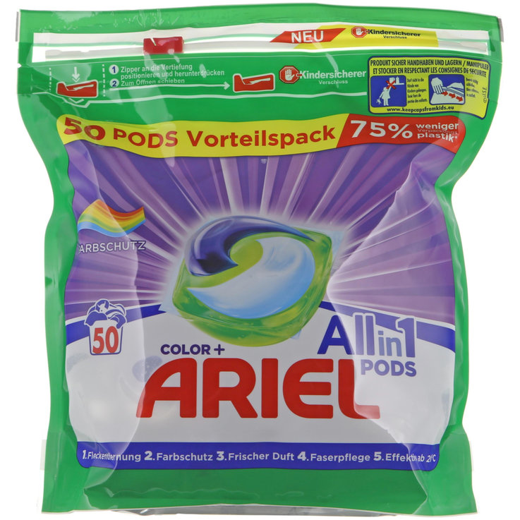 Colorati - Ariel All-in-1 Pods per capi colorati 50 pezzi