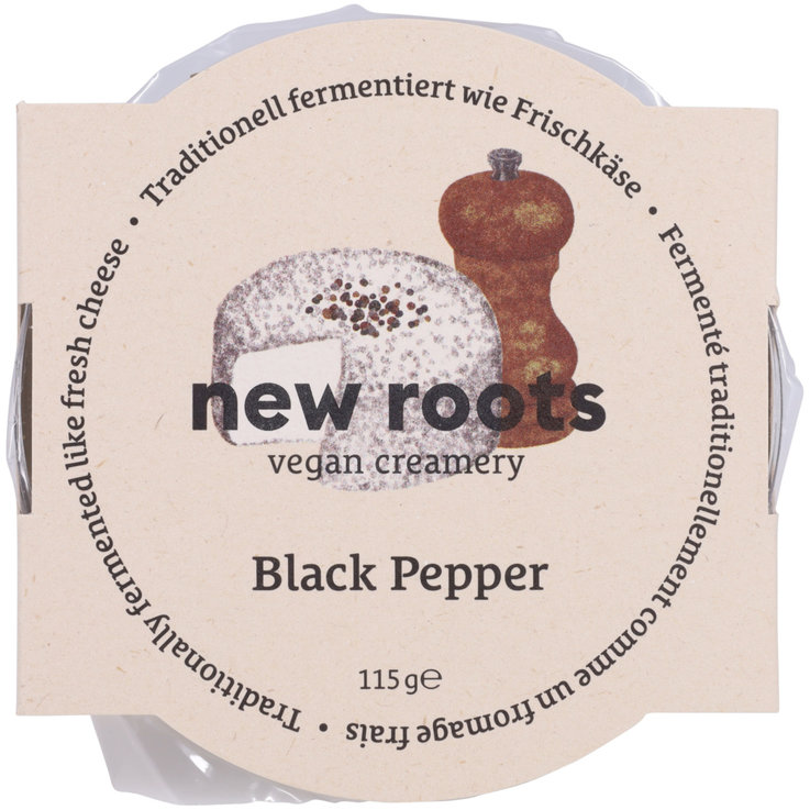 Latte, yogurt e formaggio sostitutivo - New Roots Fresh Pepper