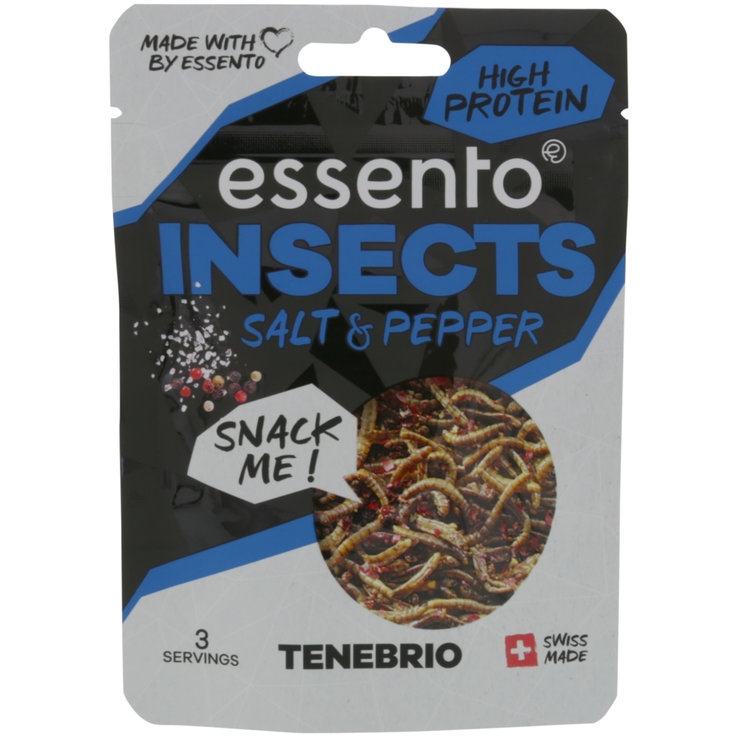 Proteine - Essento Insect Snack -Salt & Pepper