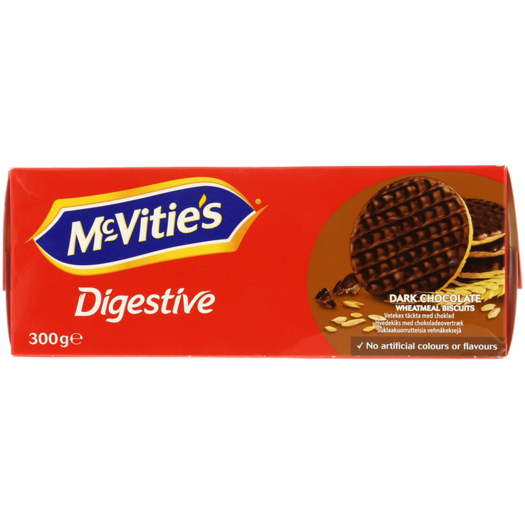 Chocolate Covered - Mc Vitie's Dark Chocolate Digestive Biscuits