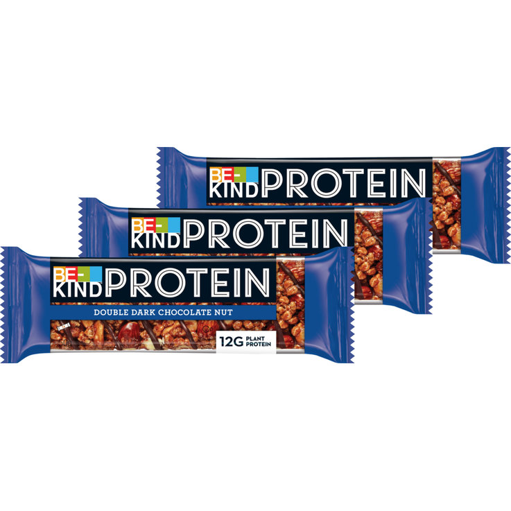 Bars without Chocolate - Be-Kind Dark Chocolate Nut Protein Bar 3x  50g
