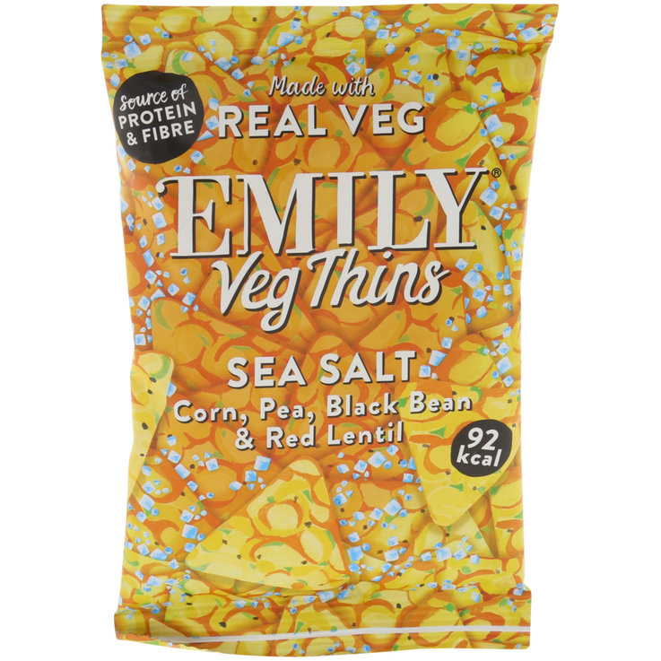 Cracker - EMILY Veg Thins Sea Salt