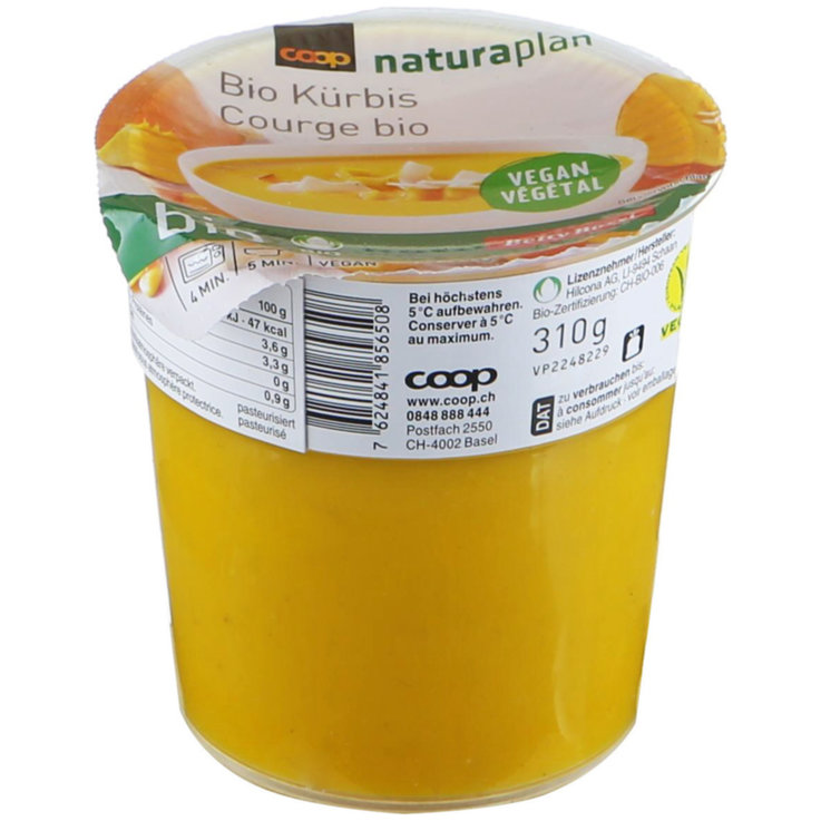 Vegetable & Mushroom Soups - Naturaplan Organic Vegan Pumpkin Soup