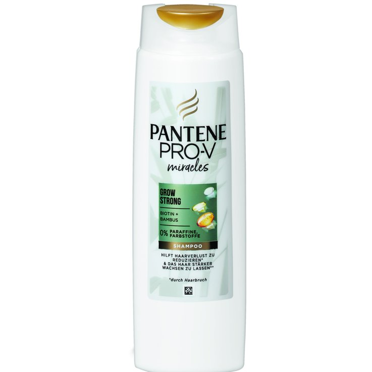 Antischuppen & Haarverlust Shampoo - Pantène Shampoo ProV Grow Strong