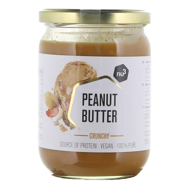 Other Sweet Spreads - nu3 Crunchy Peanut Butter