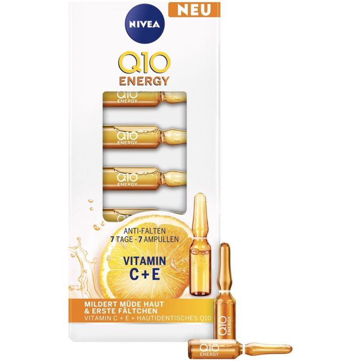 Reife Haut & Anti Age - Nivea Q10 Energy Vitamin Ampullen 7x1ml