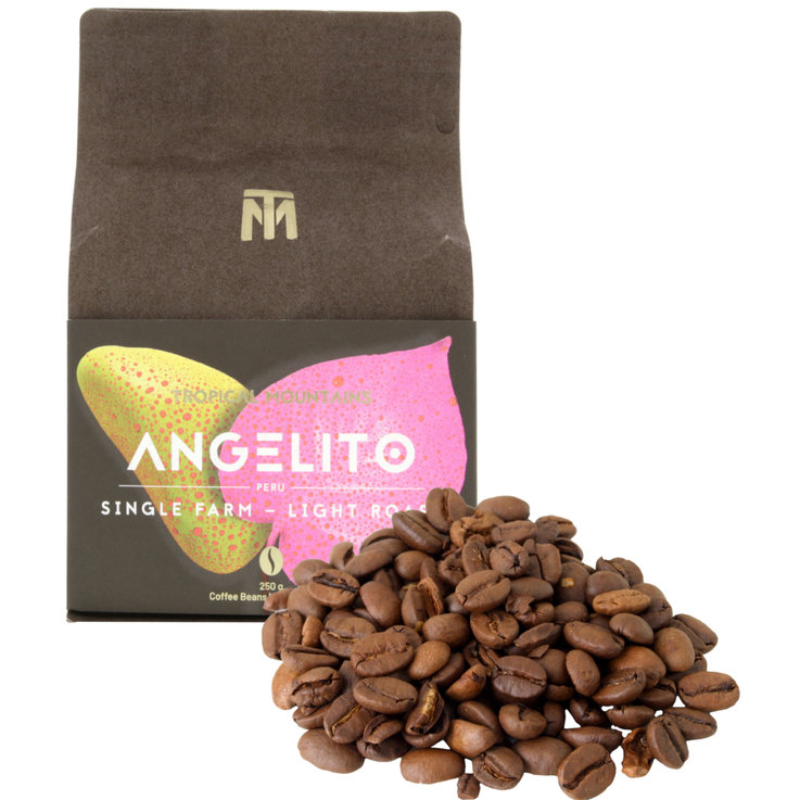 Coffee Beans - Tropical Mountains Organic Angelito Coffee Beans