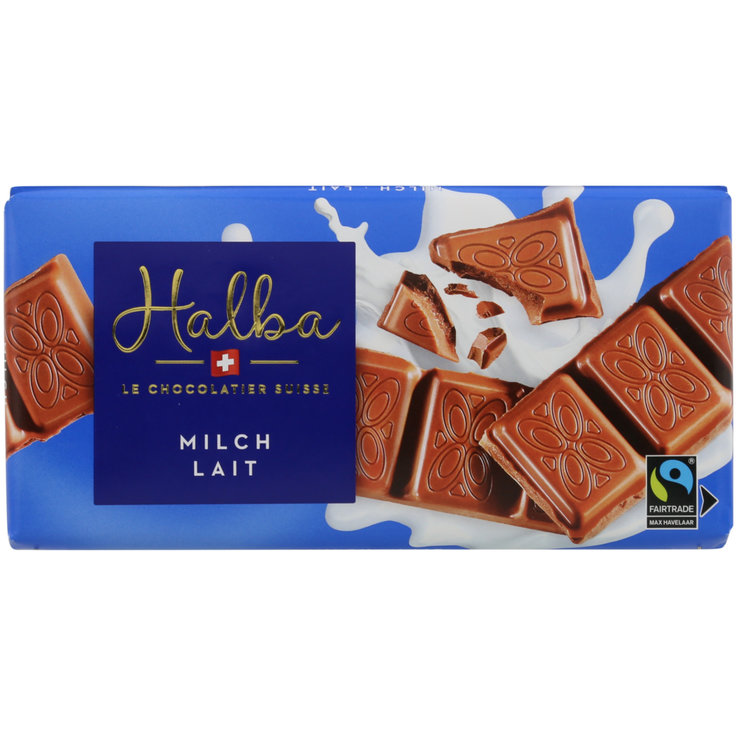 Milk - Halba Chocolate Bar Milk